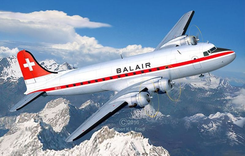 DC-4 Balair 1:72