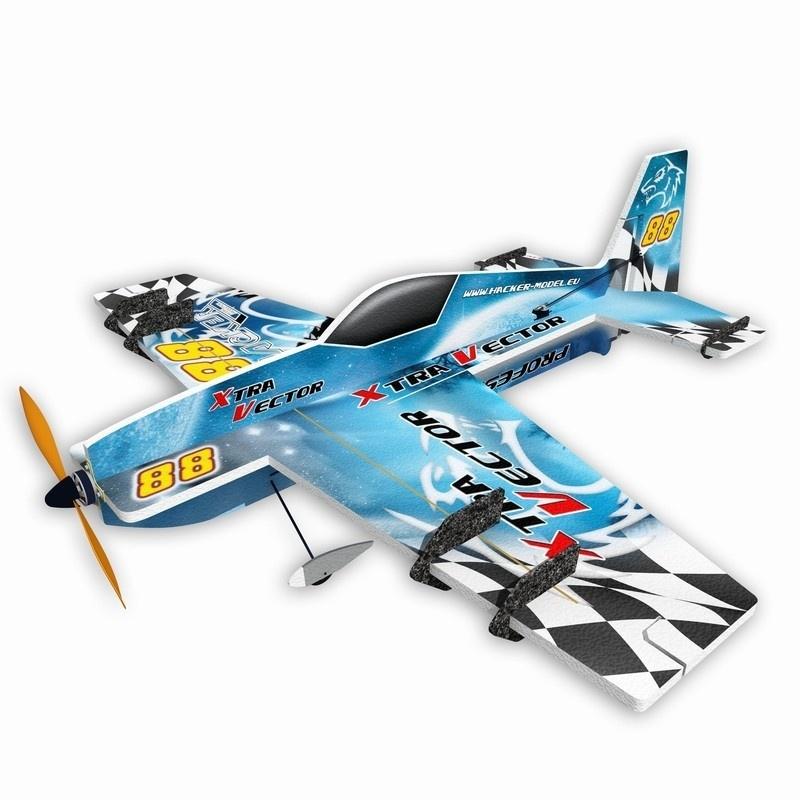Xtra Vector Kunstflugzeug 800mm ARF