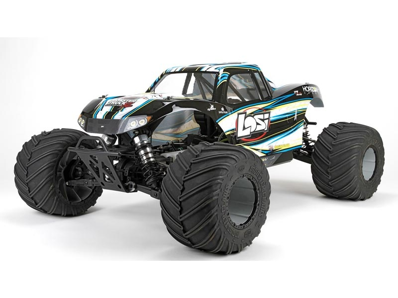 Monster Truck XL RTR, AVC: 1/5 4WD (Black) 29ccm Benzin
