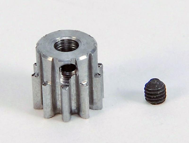 Motorritzel Modul 0,8 10 Zähne Stahl