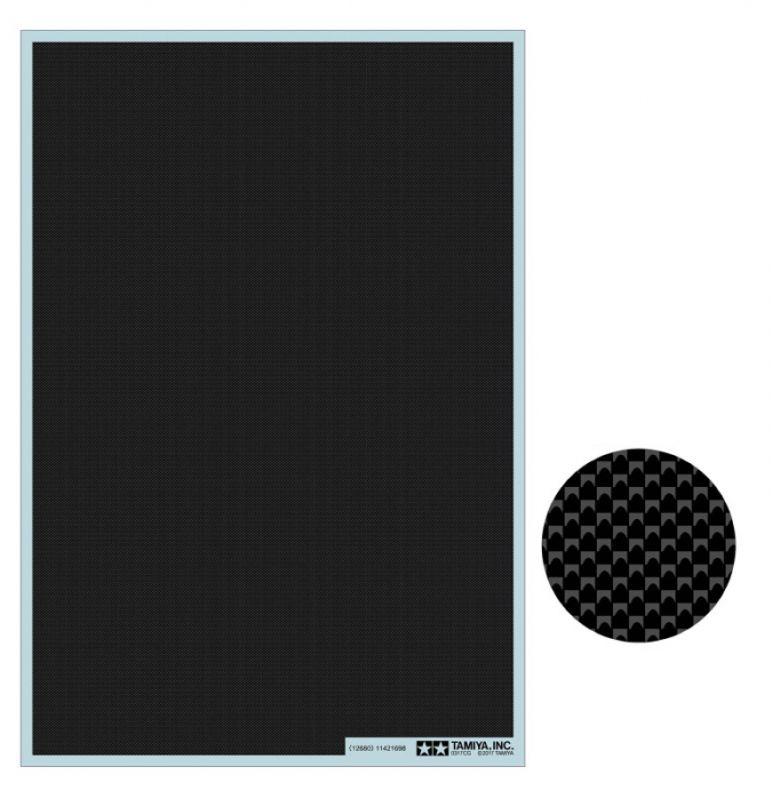 Carbon Dekor Glatt/extra-fein, 1 Bogen