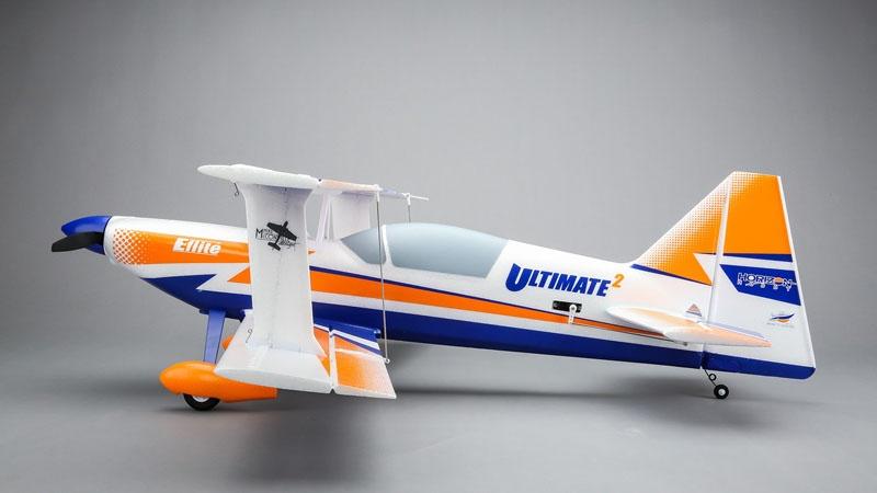 Ultimate 2 BNF Basic Kunstflug-Doppeldecker Brushless, AS3X-