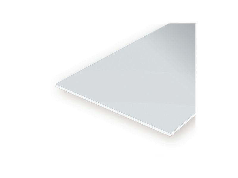Polystyrol Platten weiss 1,5 mm ca.250 x 500 mm