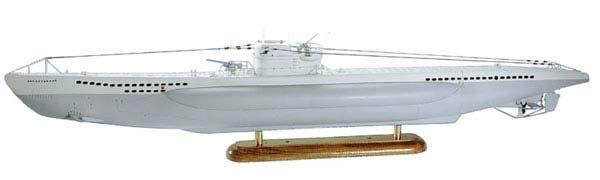 U-Boot Typ VII 1:60 Grundbaukasten