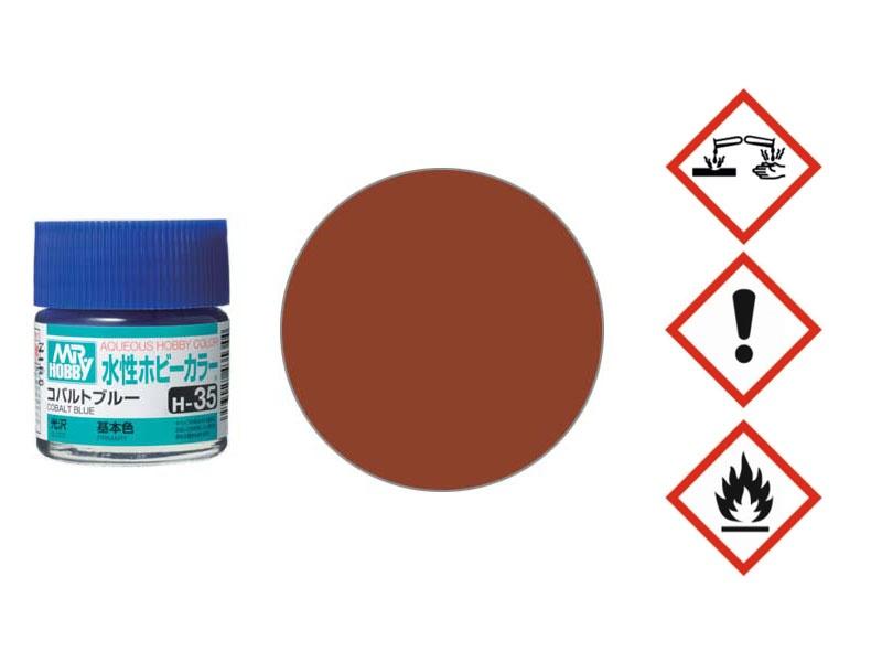 Red Brown(1)/Rot Braun(1) (10 ml) Matt
