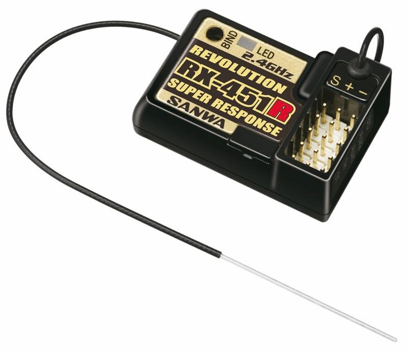 RX-451R High Speed Empfänger für M11X   und MX-3X