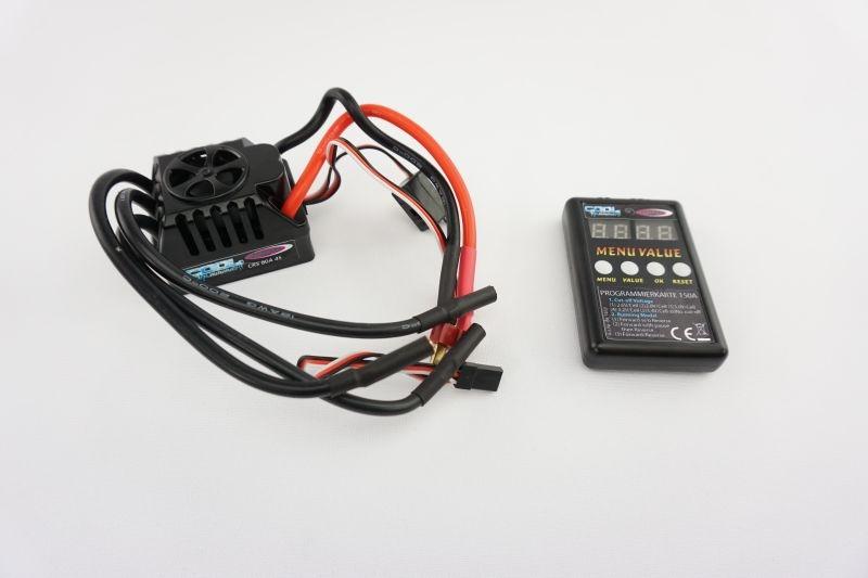 Speedregler CR B80S Brushless inkl. Programmierkarte