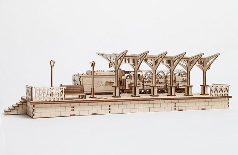 Bahnhof Modellbausatz