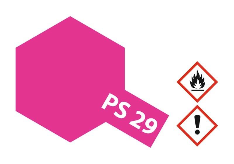 PS-29 Neon Rosarot Polycarbonat 100ml