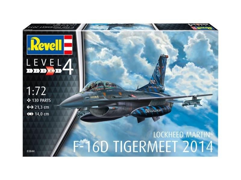 Lockheed Martin F-16D Tigermeet 2014 Plastikbausatz 1:72