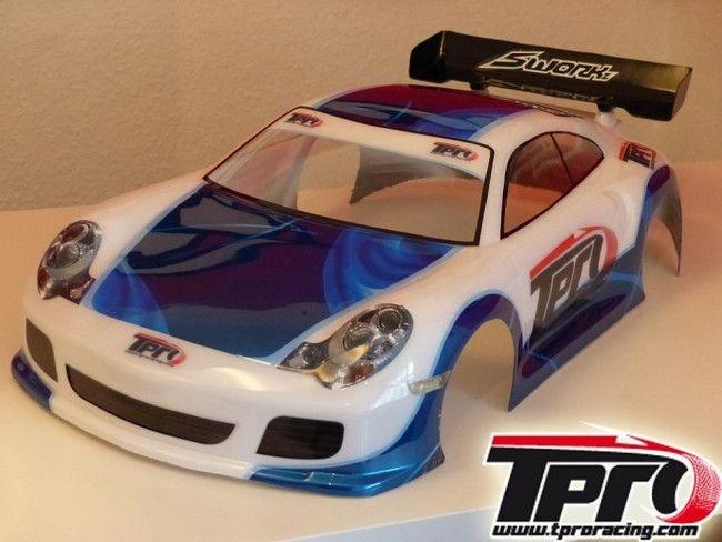 GT 3000 1/8 GT Karosserie komplett inkl. Dekorbogen