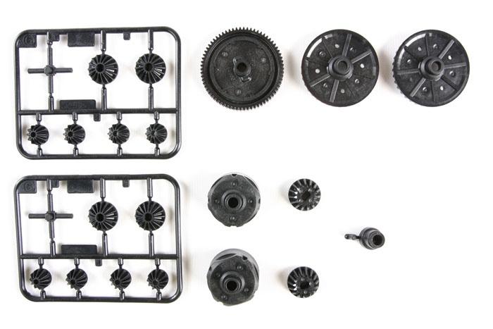 TT-02 G-Teile Getriebe TT-02B