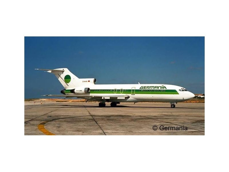 Boeing 727-100 GERMANIA 1:144