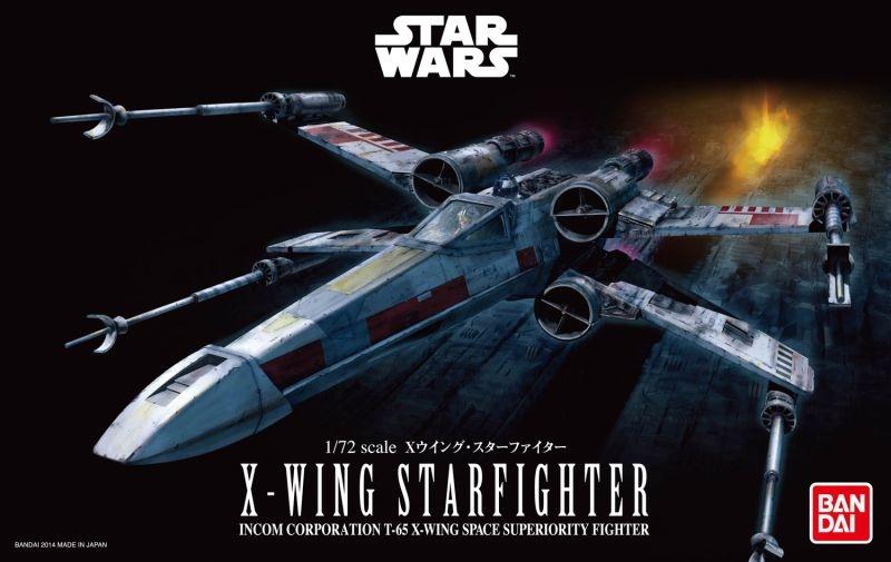 BANDAI Star Wars X-Wing Starfighter 1/72