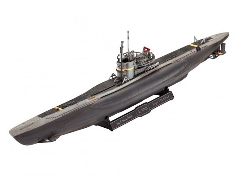 Model Set German Submarine Type VII C/41 1:350 Bausatz