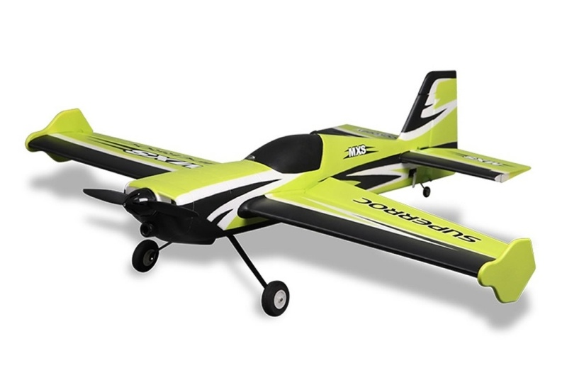 MXS V2 3D Action Flugzeug 1100mm PNP - Combo inkl. Gyro