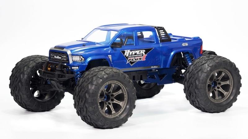 Hyper MT Plus II 4WD 6S BL Monster Truck 1:7 2,4GHz RTR