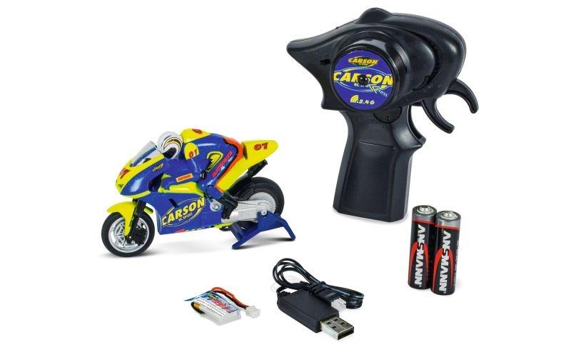 Micro Bike 2.4GHz 1:20 RC Motorrad 100% RTR