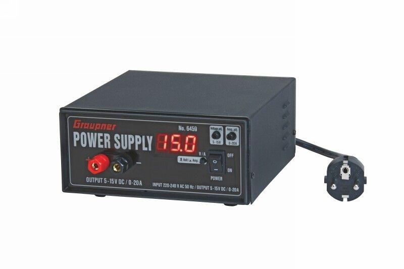 Schaltnetzteil regelbar 5-15 V 0-20 A