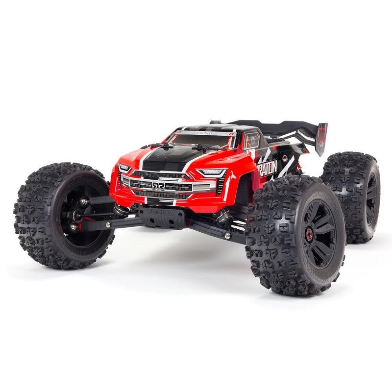 KRATON 6S V5 4WD BLX 1/8 Speed Monster Truck RTR, rot