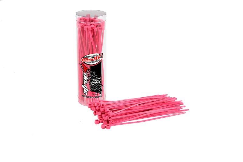 Kabelbinder 2,5x100mm - Pink (50)