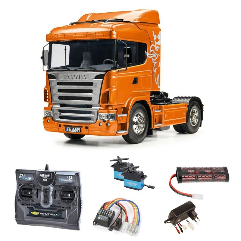 Scania R470 4x2 Orange Edition 1:14 Komplettset