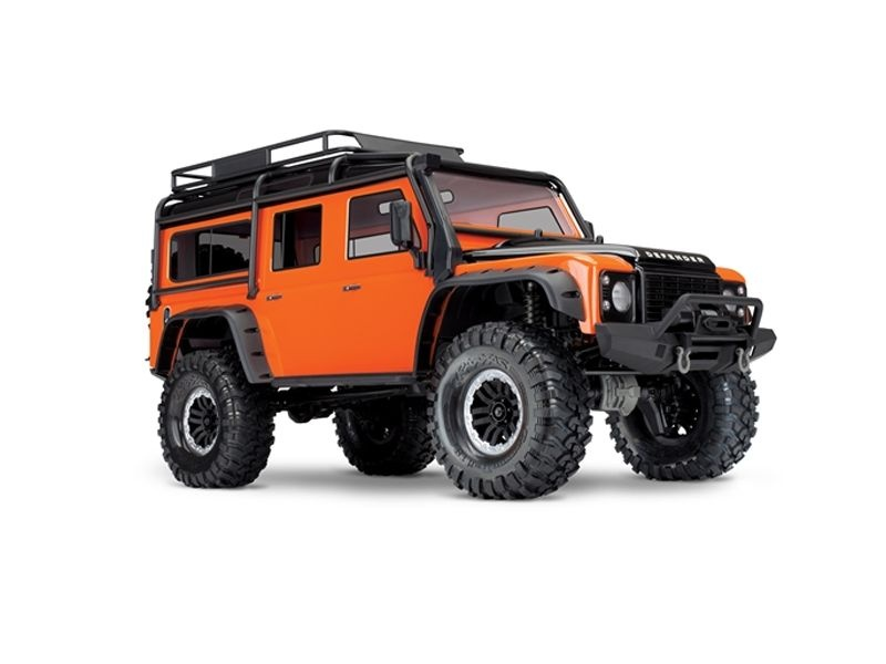 TRX-4 Scale Crawler Land Rover Defender 1:10 4WD RTR orange