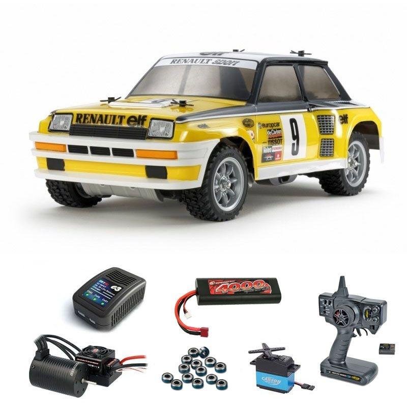 Renault 5 Turbo Rally 2WD 1:12 M-05Ra Brushless Komplettset