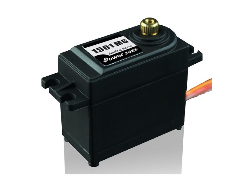 Servo HD-1501MG (17kg/0,14sec) Standardservo Analog