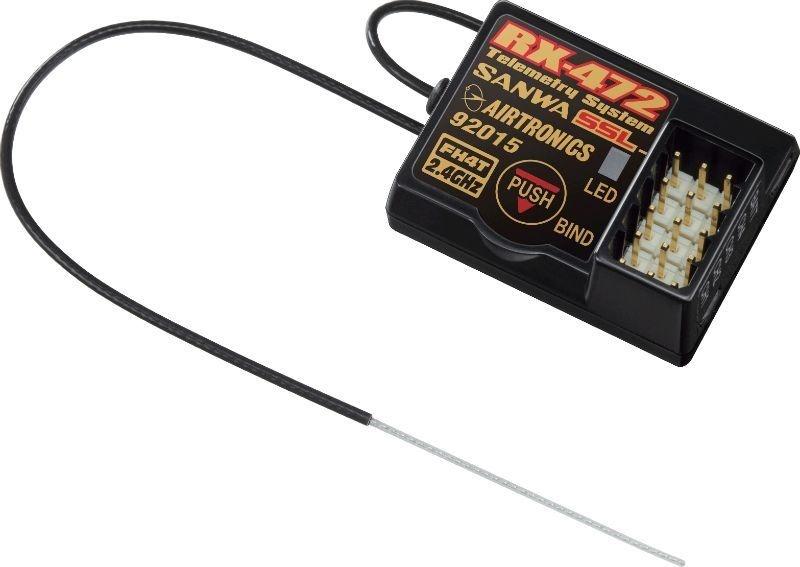 RX-472 Telemetrie / SSL 4CH-Empfänger SURFACE 2.4GHz FH4/FH3