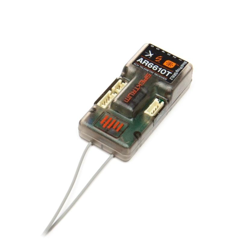 AR6610T 6-Kanal DSMX Telemetrie-Empfänger