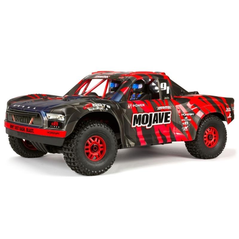 Mojave 6S BLX 4WD Desert Racer 1/7 2,4GHz RTR, rot/schwarz