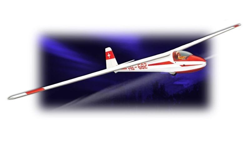 Phoenix K8B - 350 cm - E-Version Segler