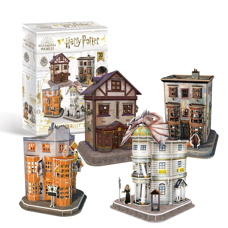 3D Puzzle Harry Potter Winkelgasse Set