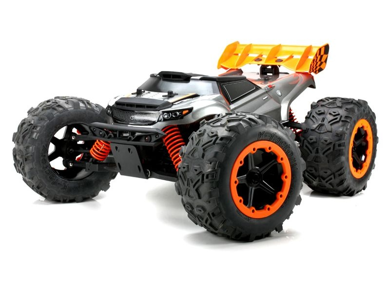 Brushless Monstertruck E6III HX EP RTR 4-6S Version!