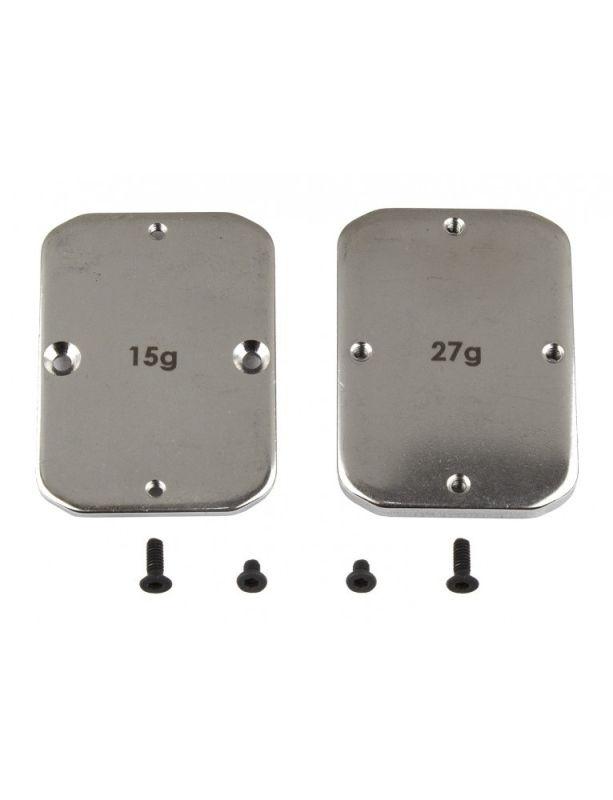 Stahl Chassis Gewichte 15g und 27g für RC10B64