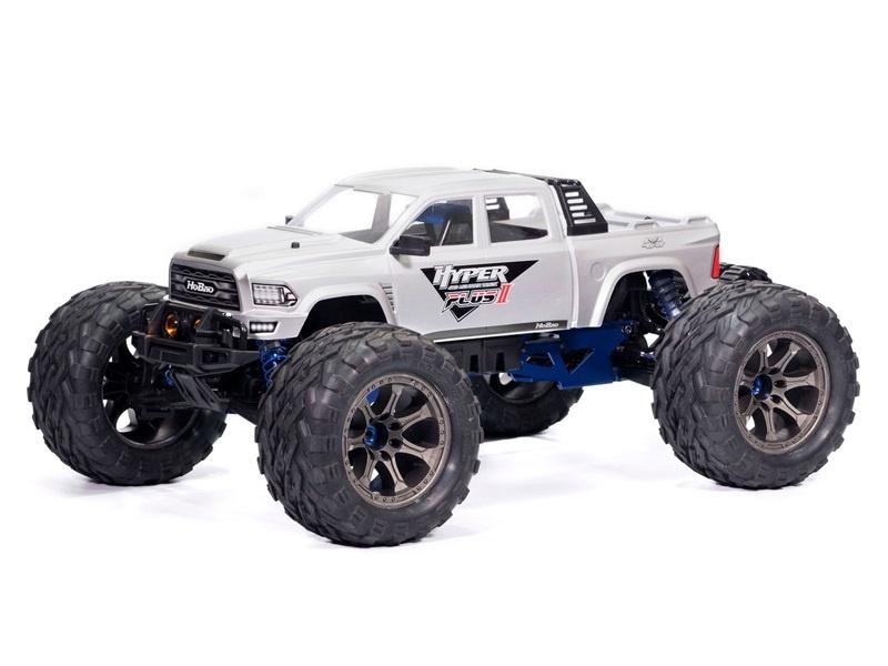 Hyper MT Plus II 4WD 6S BL Monster Truck 1:7 2,4G RTR silber