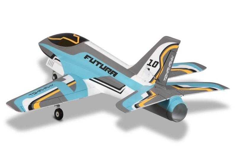 Futura V2 Jet EDF 80 PNP 106 cm, Blau, Combo Reflex Gyro