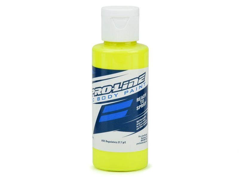 RC Body Paint - Fluorescent gelb Airbrush Farbe 60ml