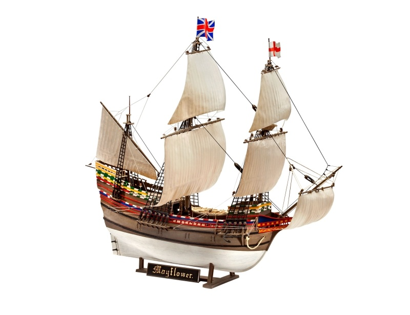 Mayflower - 400th Anniversary 1:83 Plastikbausatz