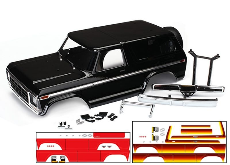 Ford Bronco Ranger XLT Karosserie Kit für TRX-4 312mm