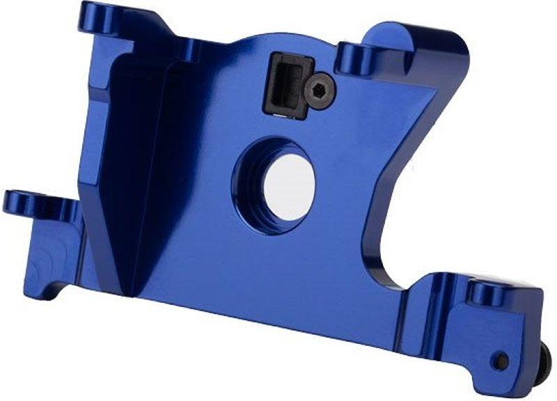 T6 Aluminium Motorhalterung blau Rustler Slash 4x4