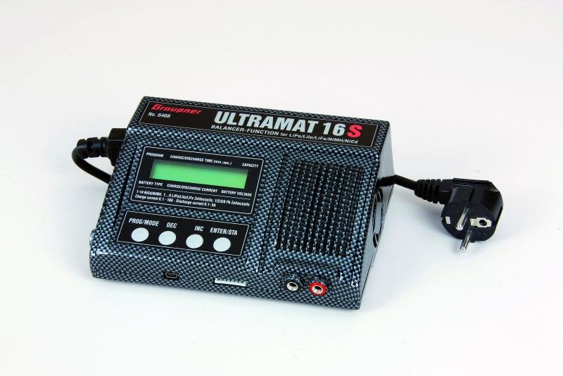 Ladegerät ULTRAMAT 16S Li Pb NiMH