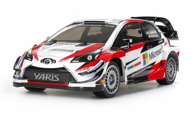Toyota Gazoo WRT/Yaris Racing 1/10 4WD Kit TT-02