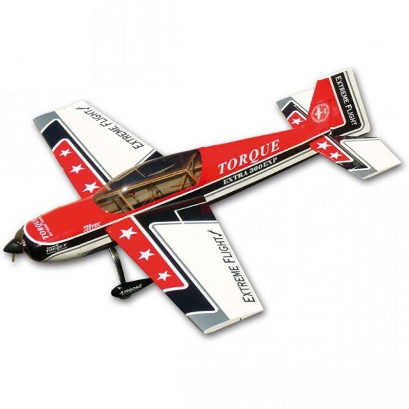 EXTRA 300 EXP 48 Zoll Kunstflugzeug 1219mm ARF, rot