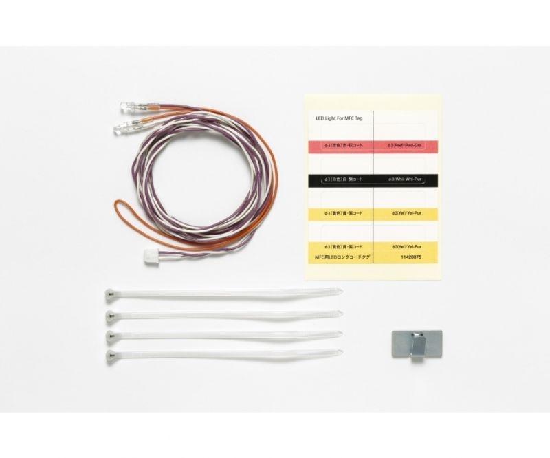 LED Licht weiß Ø3mm 1100mm lang für Multifunktionseinheit