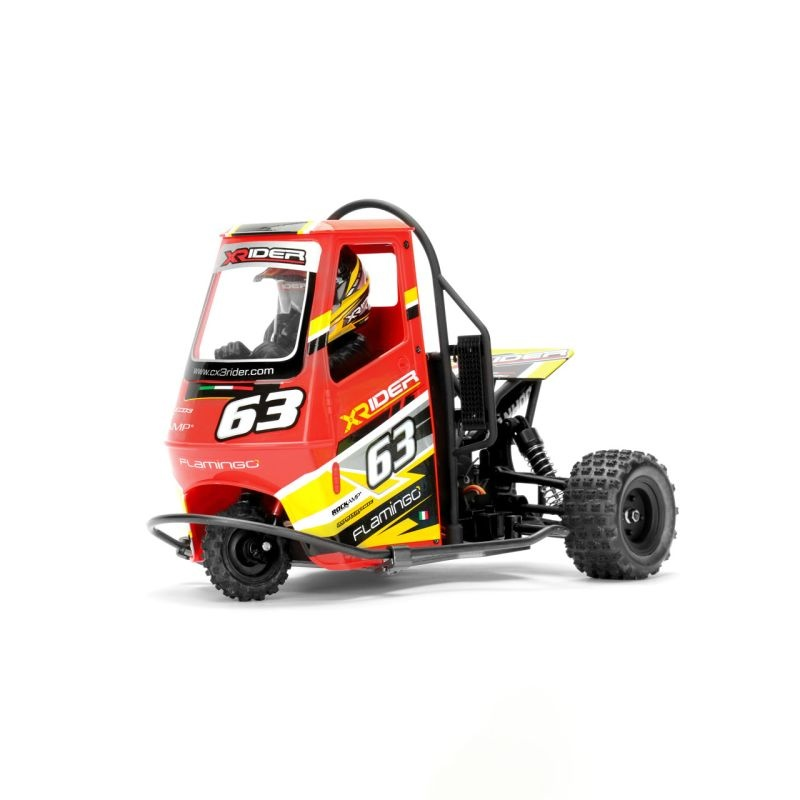 Flamingo Tricycle RTR 2.4 GHz 1:8 Rot