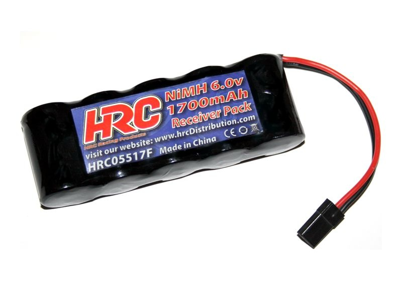 HRC 1700 - Empfänger Akku - NiMH - 6V 1700mAh - flach - UNI