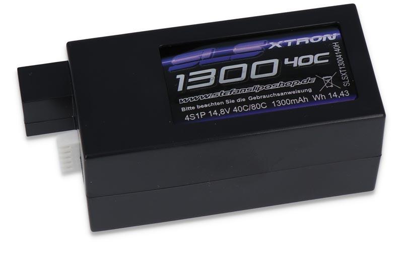 XTRON 1300mAh 4S1P 14,8V 40C/80C Hardcase