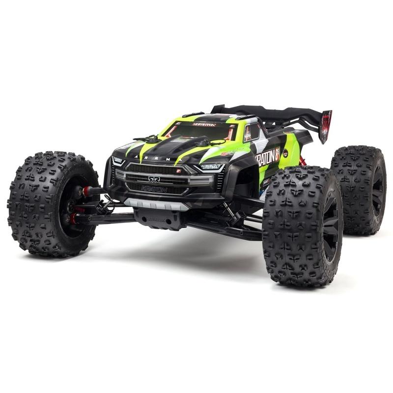Kraton 8S BLX Brushless 4WD Monster Truck 1:5 RTR grün